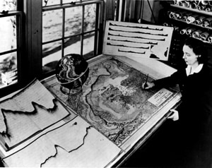 Marie Tharp mapping